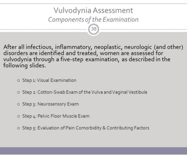 Khandker 2011 Is The Only Population Based Epidemiological Study To Demonstrate Antecedent Depression And Anxiety As Risk Factors For Vulvodynia
