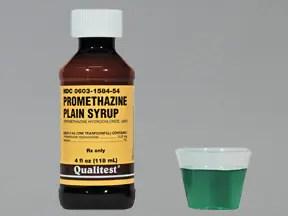 promethazine 6.25 mg/5 mL oral syrup