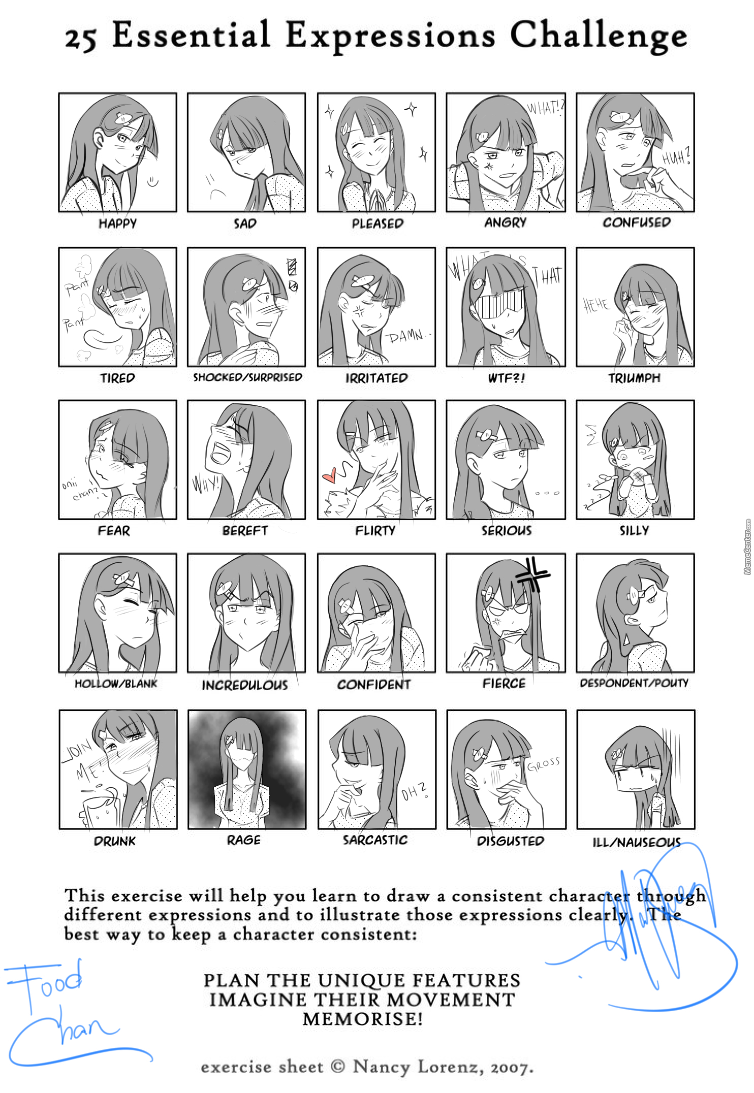 25 Essential Expressions Challange With Food Chan By