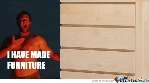 How I Feel After Assembling Anything From Ikea By Purdle
