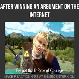 After Winning An Argument On The Internet By Masterbeatz