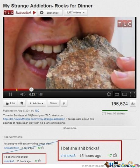 Image of: Funny Pictures Funny Youtube Comment Imgflip Funny Youtube Comment By Newgeneration Meme Center