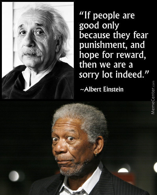 Morgan Freeman Hes Right You Know