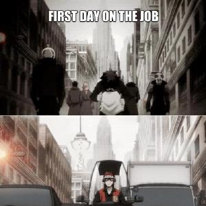 Just My Everyday Work Life Anime Kekkai Sensen By