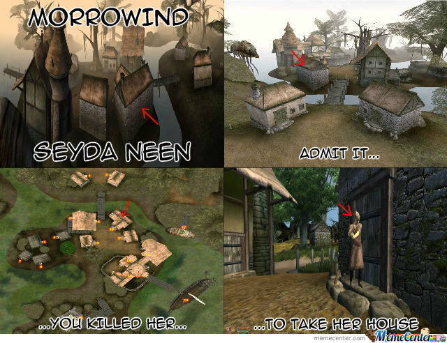 Morrowind Who Else Did This By Recyclebin Meme Center
