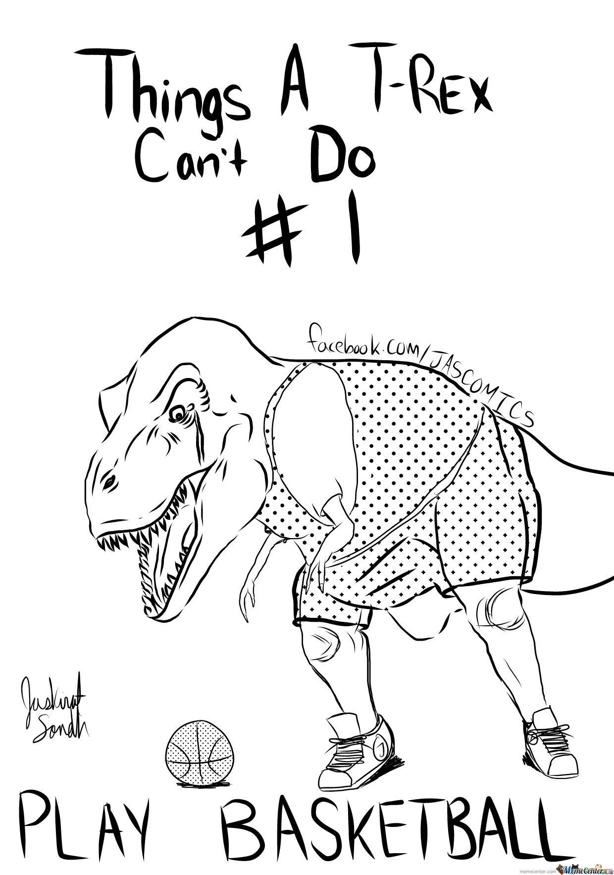 Things A T Rex Can T Do 1 By Jaskirat