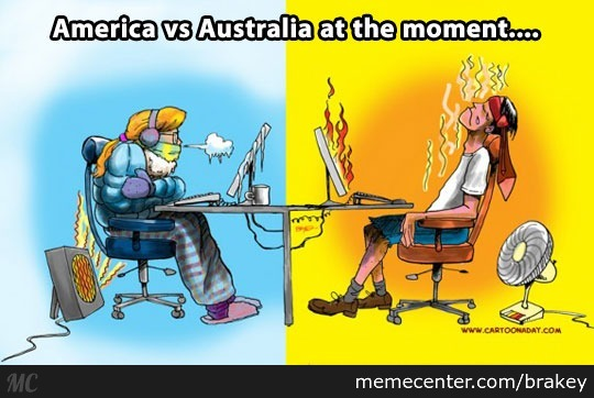 Image result for meme hot in australia