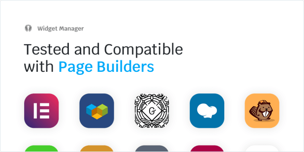 Tested and Compatible with Page Builders