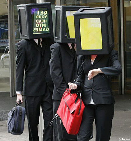 Invasion of the box-headpeople