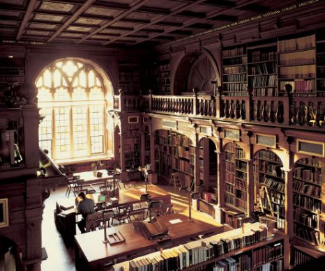 The Duke Humfrey's Library in the Bodleian