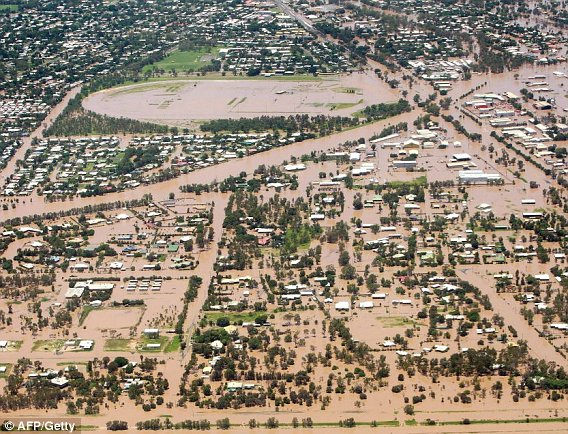 Pictures: Queensland floods in Australia