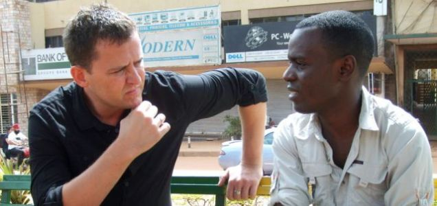 Scott Mills in Uganda with Gay Activist Frank Mugisha on The World's Worst Place To Be Gay