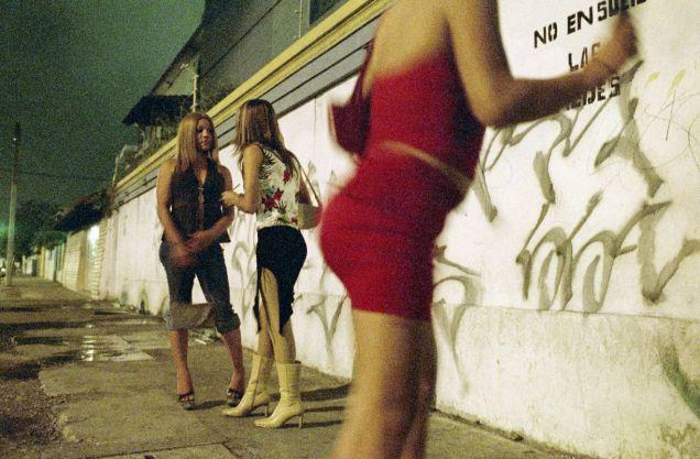 la prostitución transexual