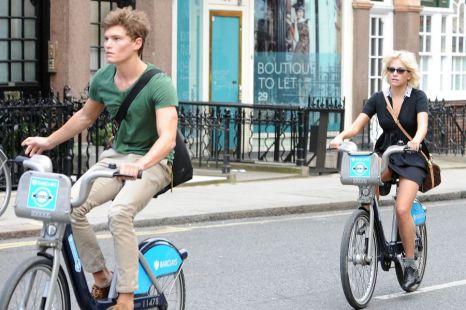 Pixie Lott, boyfriend, cycle