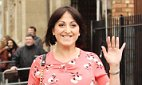 Natalie Cassidy has been forced to defend her decision to get back with her violent ex