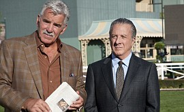 Dennis Farina and Dustin Hoffman