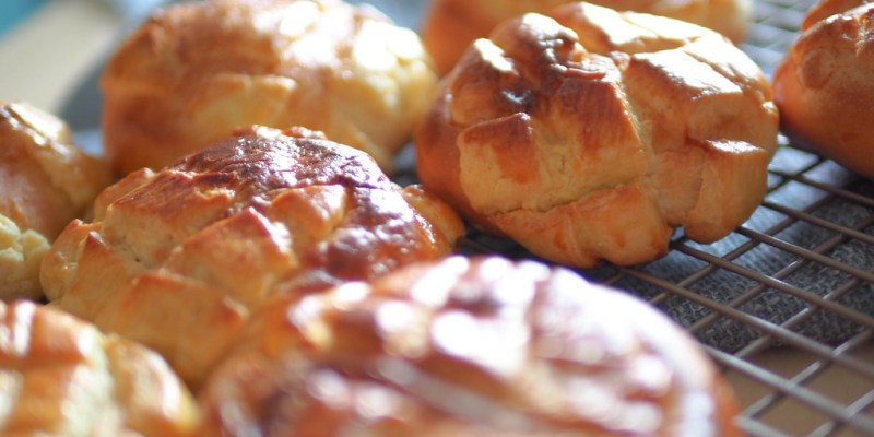 //親子烘焙實驗廚房//尋找那些年兒時回憶~原味菠蘿麵包
