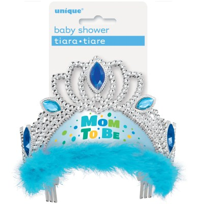 Blue Mom to be Tiara