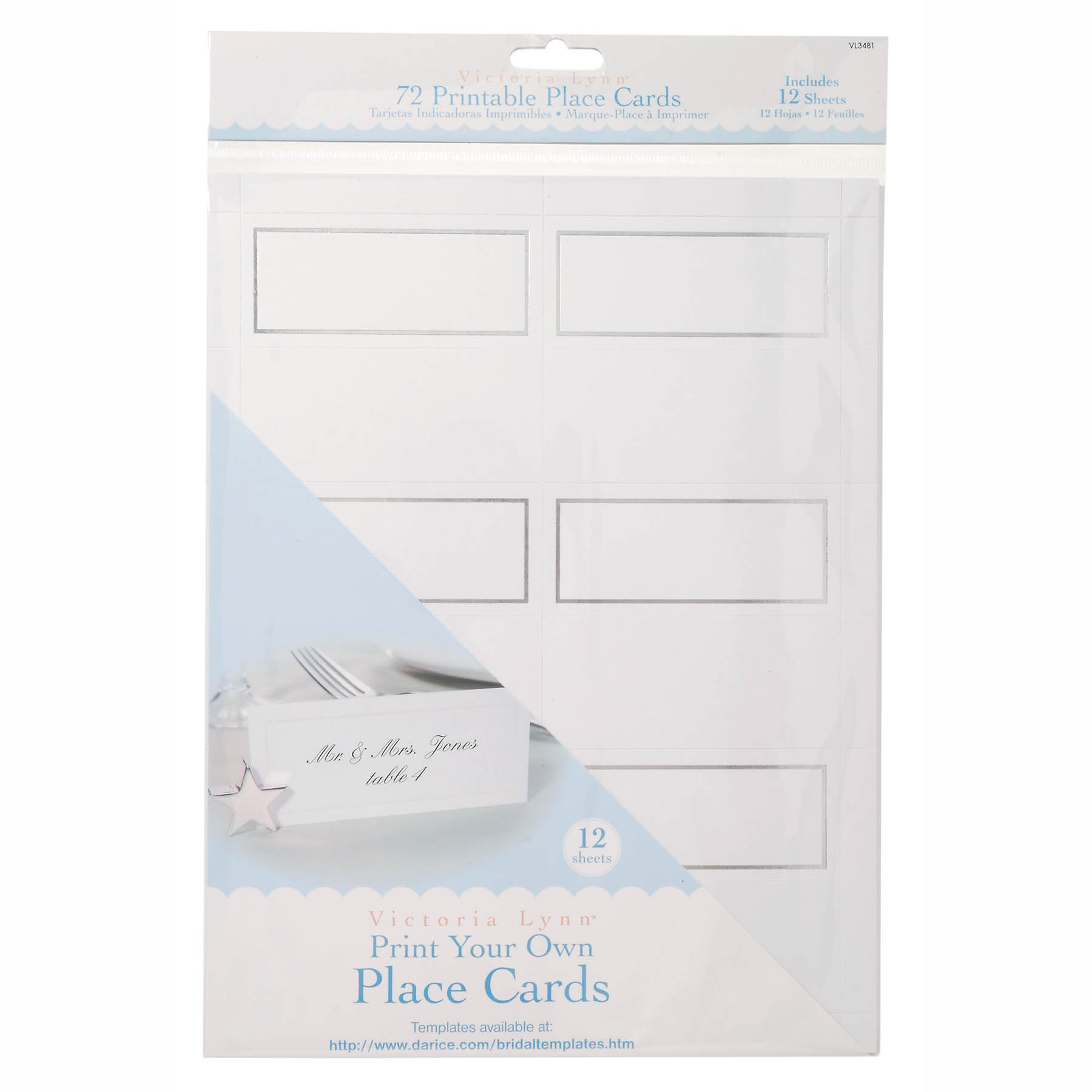 Victoria Lynn Print Your Own Place Cards 72
