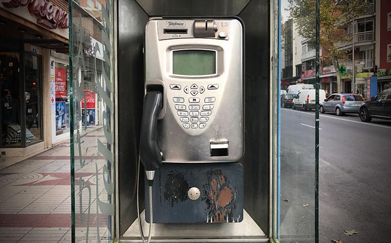 Cabina telefónica (CC) Alvy