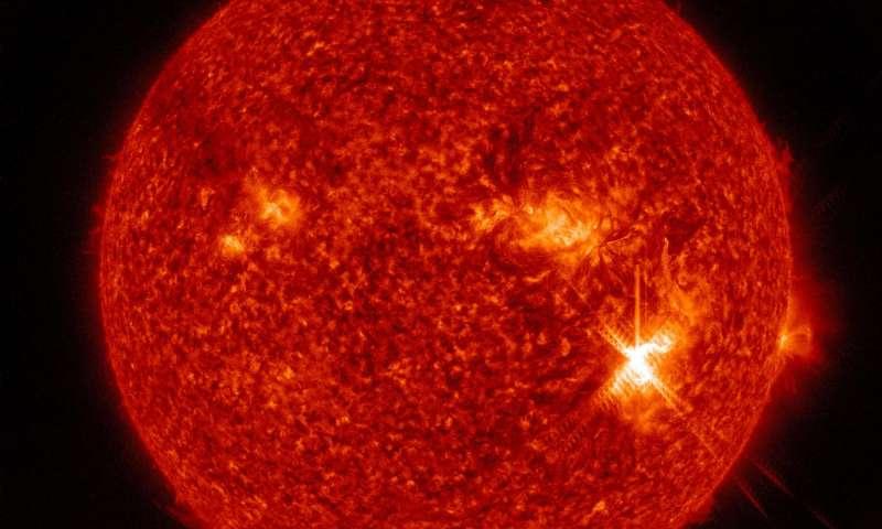 Llamarada solar NASA/Goddard/SDO