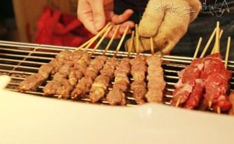 台北》師大夜市美食推薦:香噴噴油滋滋新疆羊肉串