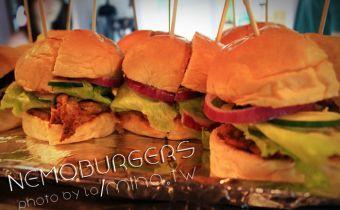 台北》尼莫漢堡nemo burgers聚餐好去處