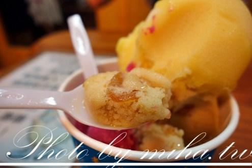 新北》有夠便宜!到金山老街必吃:金山特有『焦糖地瓜冰淇淋』,三球只要$35