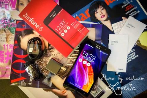 ASUS Zenfone 6霧面質感紅開箱:送給媽媽的禮物 便宜C/P值高的大尺寸手機