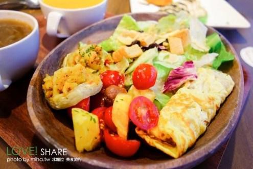 台北》Banagreen香蕉.綠 松煙旁平價輕食咖啡館 健康輕食沙拉義式料理
