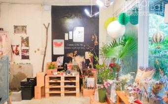 台北》儲房咖啡館:結合攝影展和乾燥花坊 不限時的半庭園舒適空間