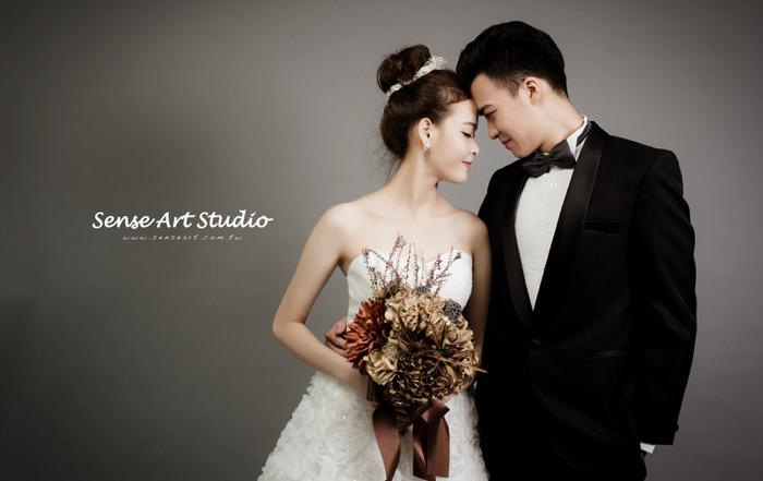 韓式婚紗,感覺攝影,台北韓式婚紗