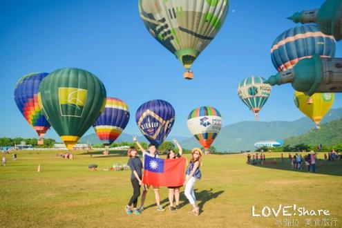 台東》鹿野高台國際熱氣球嘉年華 一定要熱血衝一次早起的很值得