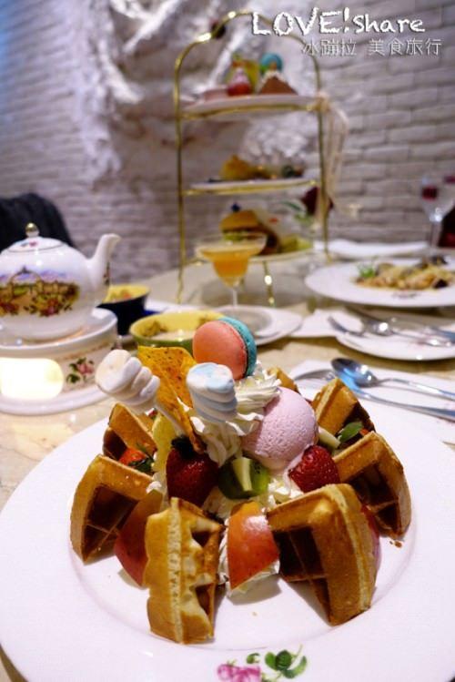古典玫瑰園,永康街咖啡廳,貴婦下午茶,姊妹下午茶