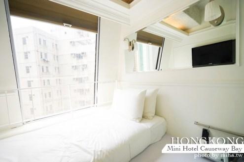 香港》銅鑼灣迷你酒店mini hotel-年輕人的香港飯店首選 交通方便又超好逛