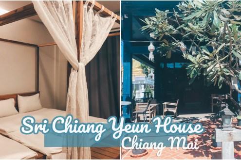 清邁》清邁斯里清運旅館 古城區旁生活機能好價格超便宜Sri Chiang Yeun House
