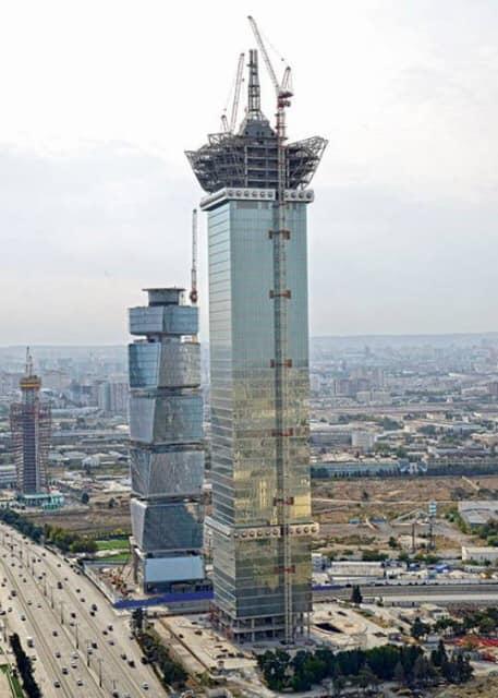 Bakıda Azərbaycanın ən hündür binası tikilir - 277 METR - FOTO