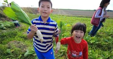 【台南景點】學甲x鹽分地帶小旅行:拔蘿蔔種蔬菜,帶小人兒來志佳園當一日小農夫吧~