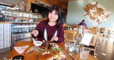 【冰島美食】Vogafjos Cafe:米湖人氣No.1,羊腿&牛肉漢堡入味好豐盛