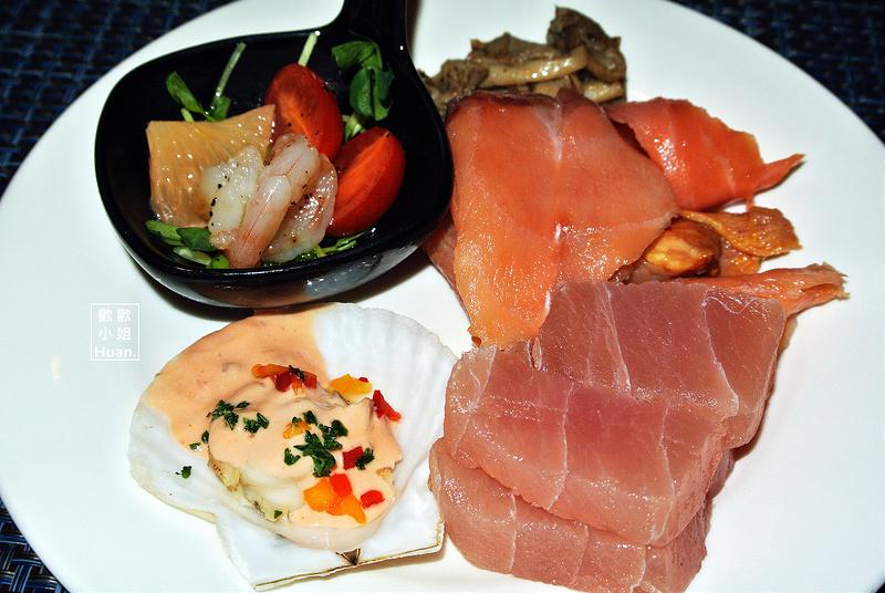 捷運台北車站美食   福君海悅大飯店 歐式自助餐 Buffet 花園西餐廳