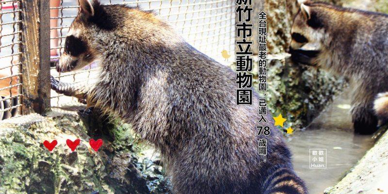 新竹市景點 | 新竹市立動物園 全台現址最老的動物園 已邁入78歲