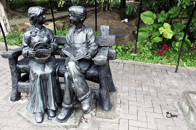 台北士林景點 | 名山公園 一座充滿歷史的小公園