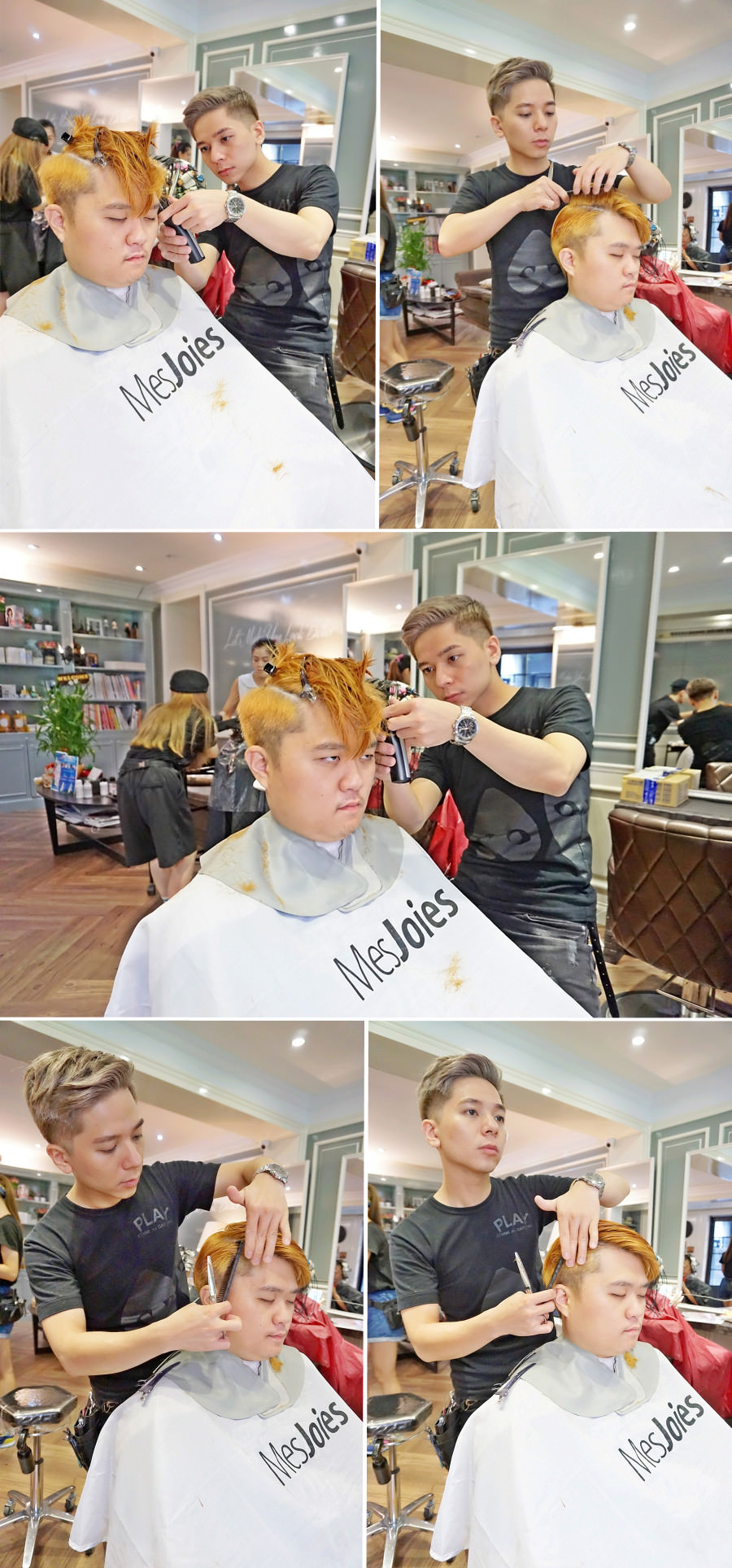Bon Bon Hair Design Studio 妞比染綠色