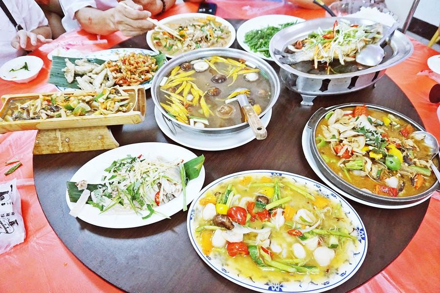 南投魚池美食 | 日月潭幸こう風味料理餐廳 伊達邵美食 邵族風味餐 經濟合菜 - 瓦妮又在吃