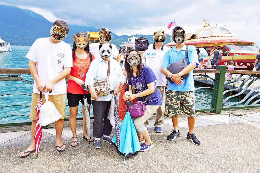 南投魚池景點 | 日月潭伊達邵碼頭 遊客中心 日月村商圈 逐鹿市集