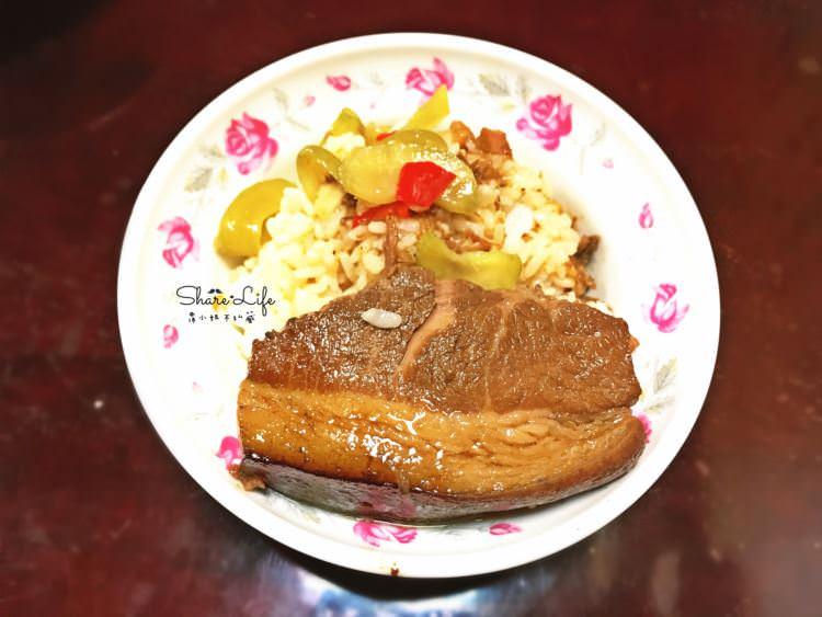 台中西區美食 李海魯肉飯 東興分店 第二市場 50年老字號美味 不油膩的肉嫩汁香 東興路三段美食