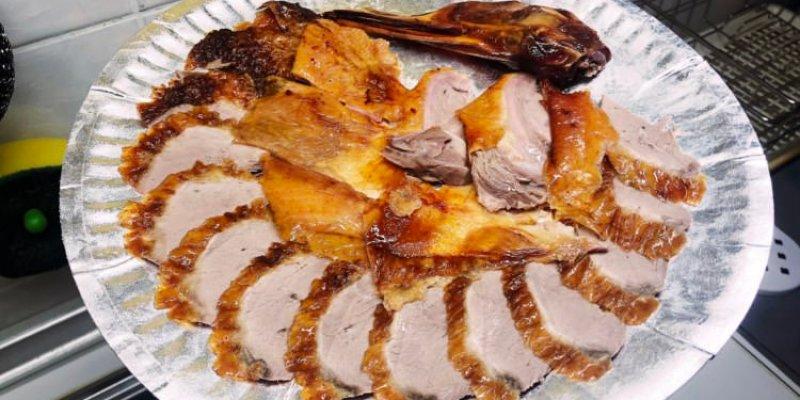 台中西區美食 北平烤鴨 土窯雞 真好味烤鴨莊 向上市場排隊美食 美村路一段 聽說要提早預約才吃的到啊!