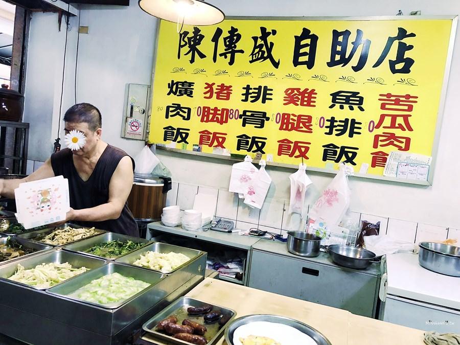 台中南屯美食 大坑口陳傳盛豬腳飯 爌肉飯 自助店 冠香飯包 便當店 雖然選擇少卻依然迷人