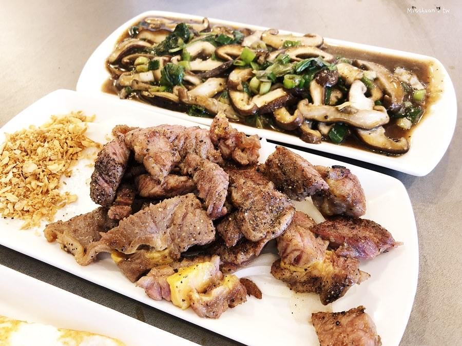 台中南屯美食 八米澤平價鐵板燒 可外帶外送 單點 雙人套餐 飲料熱湯無限享用 黎明路二段
