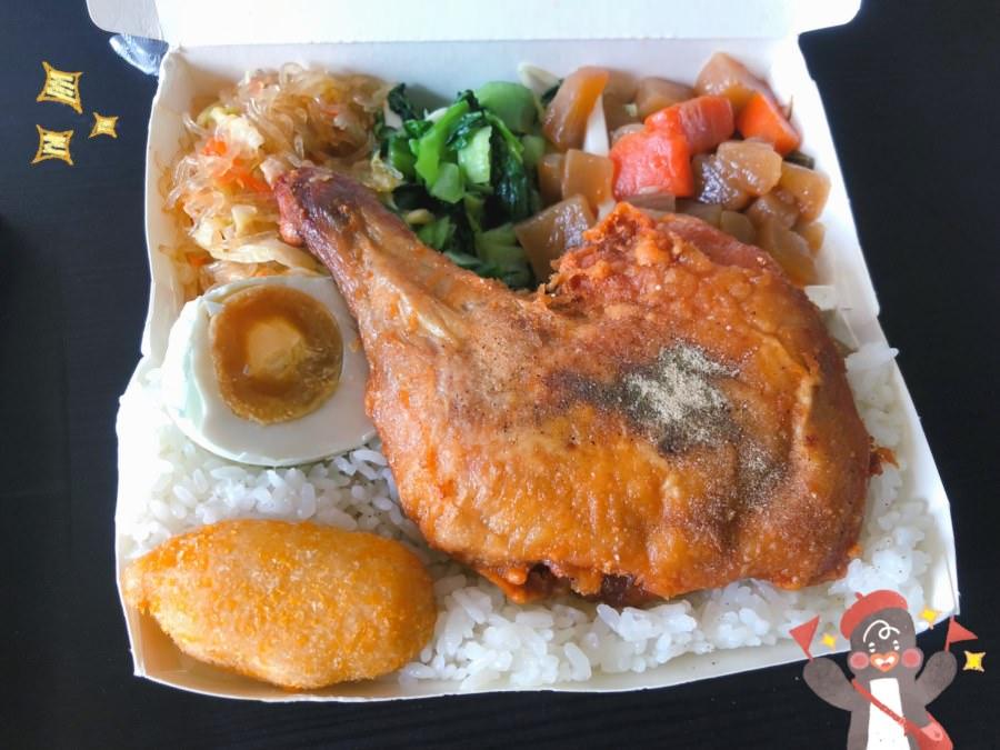 台中潭子美食 蔡 家鄉 池上飯包 大份量便當 配菜多又好吃 平價美味 歡迎團體訂購 外送服務 自助熱湯
